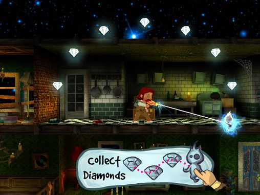 Capturas de pantalla del juego The phantom PI: Mission apparition para iPhone, iPad o iPod.