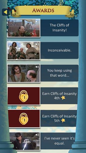 Download The princess Bride iPhone free game.