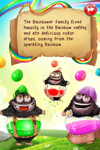 Download The rainbowers iPhone free game.
