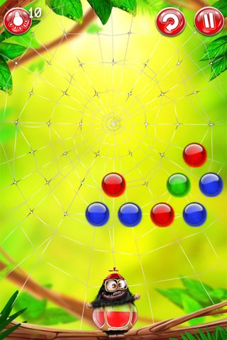 Capturas de pantalla del juego The rainbowers para iPhone, iPad o iPod.