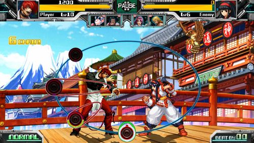 Kostenloser Download von The rhythm of fighters für iPhone, iPad und iPod.