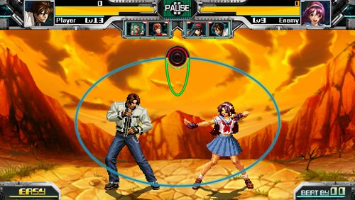 Screenshots of the The rhythm of fighters game for iPhone, iPad or iPod.