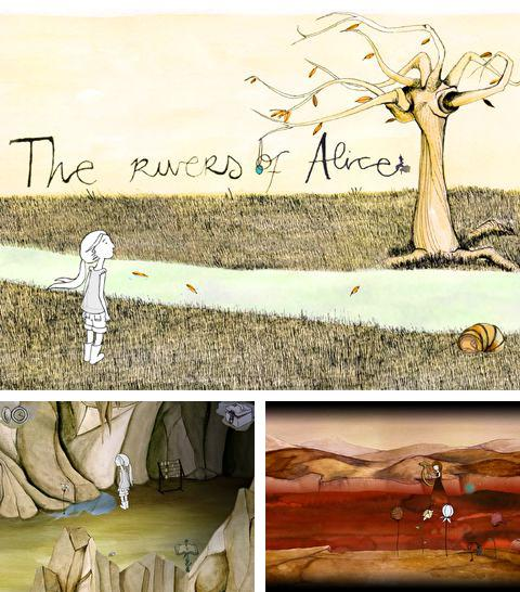 In addition to the game The amazing Bernard for iPhone, iPad or iPod, you can also download The rivers of Alice for free.