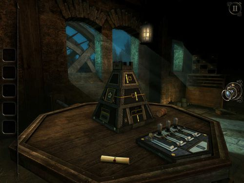 Screenshots vom Spiel The room three für iPhone, iPad oder iPod.