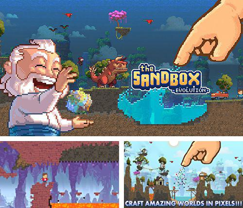 In addition to the game Block breaker 3: Unlimited for iPhone, iPad or iPod, you can also download The sandbox: Evolution for free.