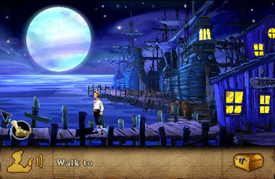 Écrans du jeu The Secret of Monkey Island pour iPhone, iPad ou iPod.