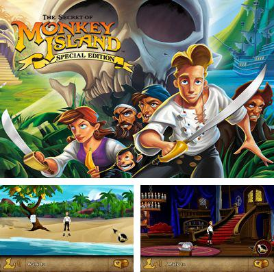 In addition to the game Zombies race plants for iPhone, iPad or iPod, you can also download The Secret of Monkey Island for free.