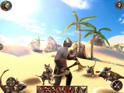 Capturas de pantalla del juego The Shadow Sun para iPhone, iPad o iPod.