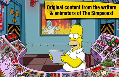 Descarga gratuita de The Simpsons: Tapped Out para iPhone, iPad y iPod.