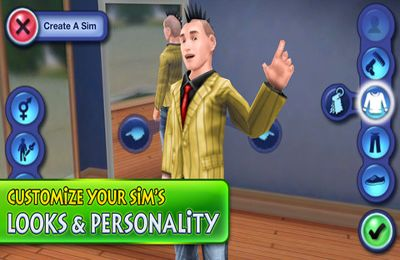 Download The Sims 3 iPhone free game.