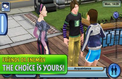 Descarga gratuita de The Sims 3 para iPhone, iPad y iPod.
