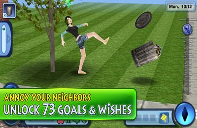 Screenshots do jogo The Sims 3 para iPhone, iPad ou iPod.