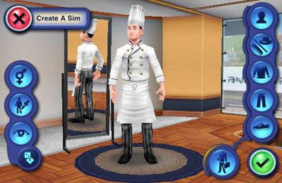 Screenshots vom Spiel The Sims 3: Ambitions für iPhone, iPad oder iPod.