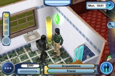 Capturas de pantalla del juego The Sims 3: Ambitions para iPhone, iPad o iPod.