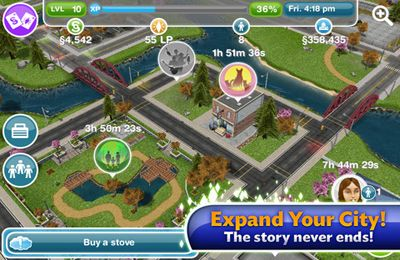 Download The Sims FreePlay iPhone free game.