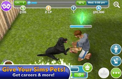 Kostenloser Download von The Sims FreePlay für iPhone, iPad und iPod.