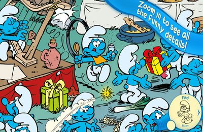 Download The Smurfs Hide & Seek with Brainy iPhone free game.