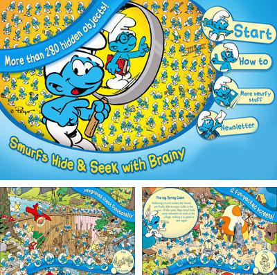 In addition to the game Pix'n love rush for iPhone, iPad or iPod, you can also download The Smurfs Hide & Seek with Brainy for free.