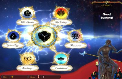 Screenshots of the The Sorcerer's Stone game for iPhone, iPad or iPod.