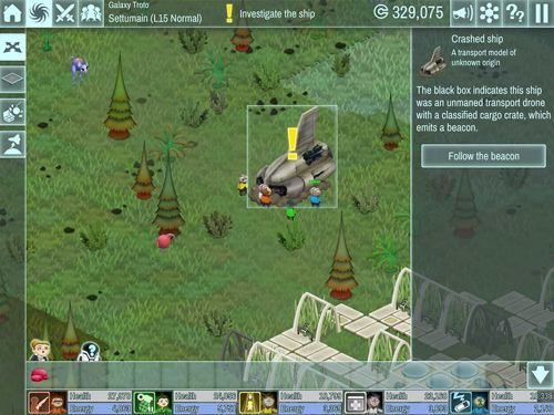 Download The spatials iPhone free game.