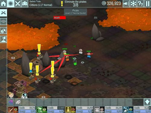 Screenshots of the The spatials game for iPhone, iPad or iPod.