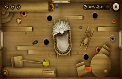 Screenshots vom Spiel The story of Kolobok für iPhone, iPad oder iPod.