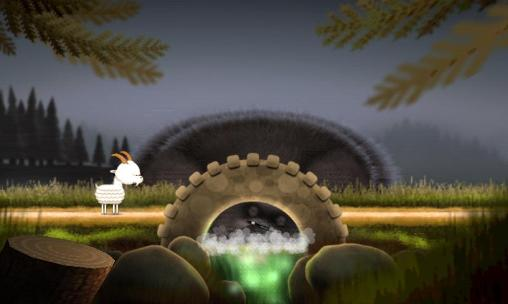 Screenshots vom Spiel The three billy goats gruff für iPhone, iPad oder iPod.