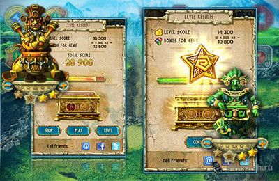 Kostenloser Download von The Treasures of Montezuma 3 für iPhone, iPad und iPod.