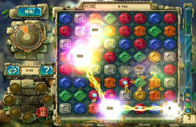 Kostenloser Download von The Treasures of Montezuma 3 HD für iPhone, iPad und iPod.