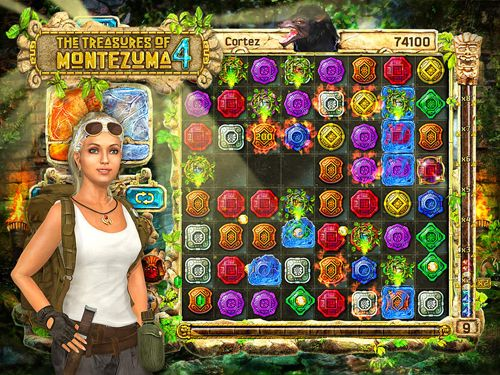 Download The treasures of Montezuma 4 iPhone free game.