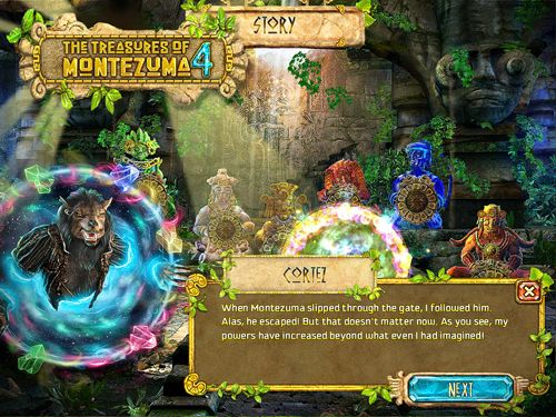 Free The treasures of Montezuma 4 download for iPhone, iPad and iPod.