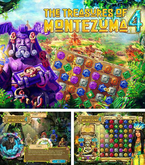 Además del juego The treasures of Montezuma 4 para iPhone 5S, puede descargar gratis Tesoros de Montezuma 4 para iPhone, iPad, iPod.