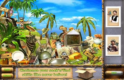 Kostenloser Download von The Treasures of Mystery Island für iPhone, iPad und iPod.