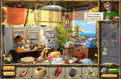 Геймплей The Treasures of Mystery Island для Айпад.