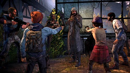 Capturas de pantalla del juego The walking dead: A new frontier para iPhone, iPad o iPod.