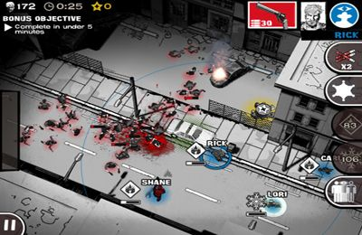 Kostenloser Download von The Walking Dead: Assault für iPhone, iPad und iPod.