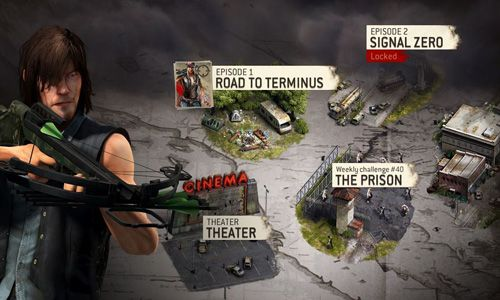 Download The walking dead: No man's land iPhone free game.