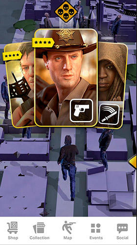 Download The walking dead: Our world iPhone free game.