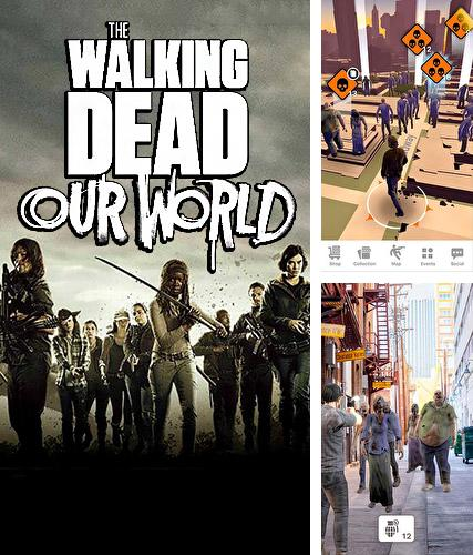 In addition to the game Battle riders for iPhone, iPad or iPod, you can also download The walking dead: Our world for free.