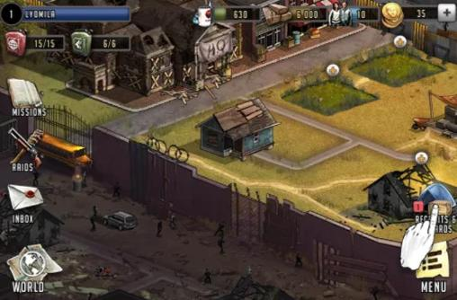Kostenloser Download von The walking dead: Road to survival für iPhone, iPad und iPod.