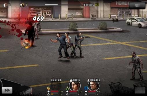 Screenshots vom Spiel The walking dead: Road to survival für iPhone, iPad oder iPod.