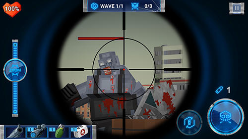 Screenshots of the The walking zombie: Dead city game for iPhone, iPad or iPod.