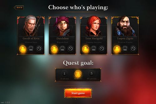 Download The witcher: Adventure game iPhone free game.