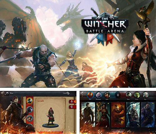 Kostenloses iPhone-Game The Witcher: Kampfarena See herunterladen.