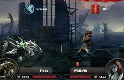 Screenshots vom Spiel The Witcher: Versus für iPhone, iPad oder iPod.