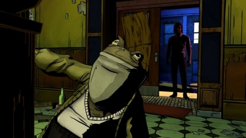 Capturas de pantalla del juego The Wolf Among Us para iPhone, iPad o iPod.