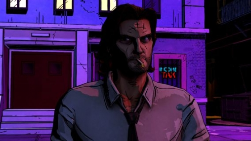 Écrans du jeu The Wolf Among Us pour iPhone, iPad ou iPod.