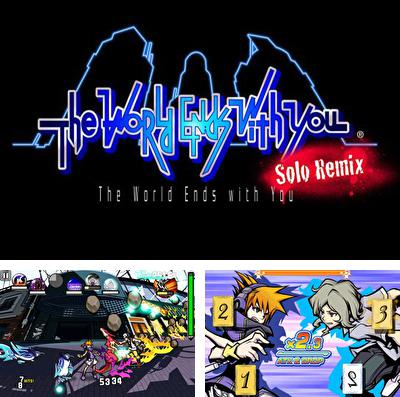 除了 iPhone、iPad 或 iPod 游戏,您还可以免费下载The World Ends with You: Solo Remix, 美妙世界:独奏。