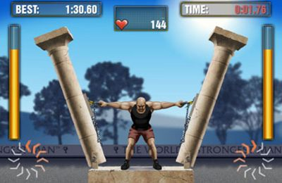 Kostenloser Download von The World's Strongest Man für iPhone, iPad und iPod.