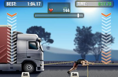 Screenshots vom Spiel The World's Strongest Man für iPhone, iPad oder iPod.